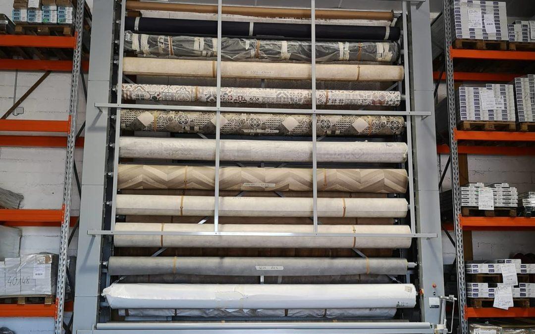 20 références de sol PVC stockés !