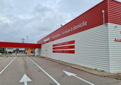 AuchanDrive, Galvaplast+Sofralac