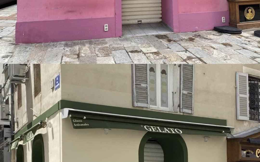 Superbe Gelateria Ajaccienne !